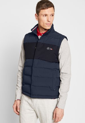 TOMMY X MERCEDES-BENZ - Bodywarmer - blue