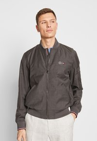 Tommy Hilfiger Tailored - TOMMY X MERCEDES-BENZ - Bomber Jacket - grey - 0