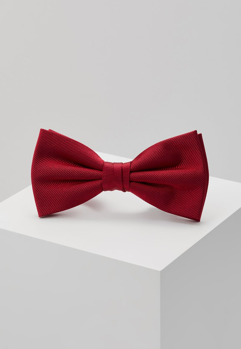 Tommy Hilfiger - SOLID BOWTIE - Bow tie - red