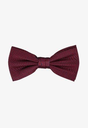 MICRO DESIGN BOWTIE - Bow tie - red