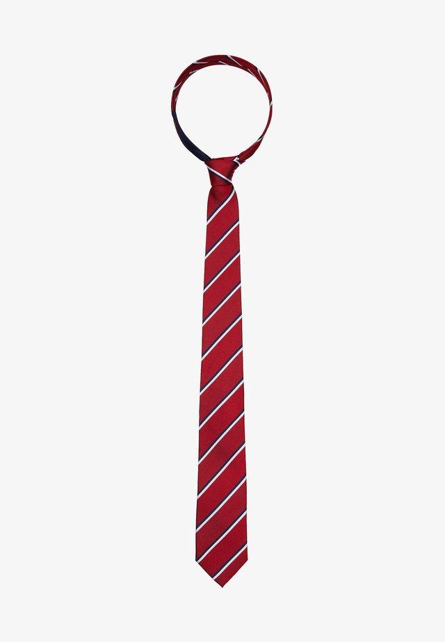 STRIPE TIE - Cravatta - red