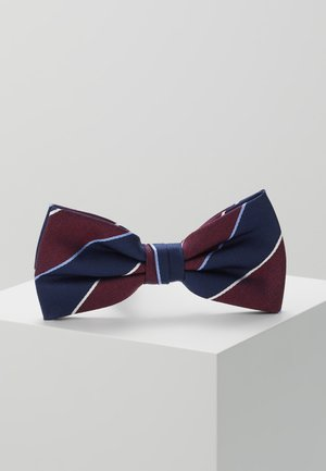 STRIPE BOWTIE - Bow tie - red