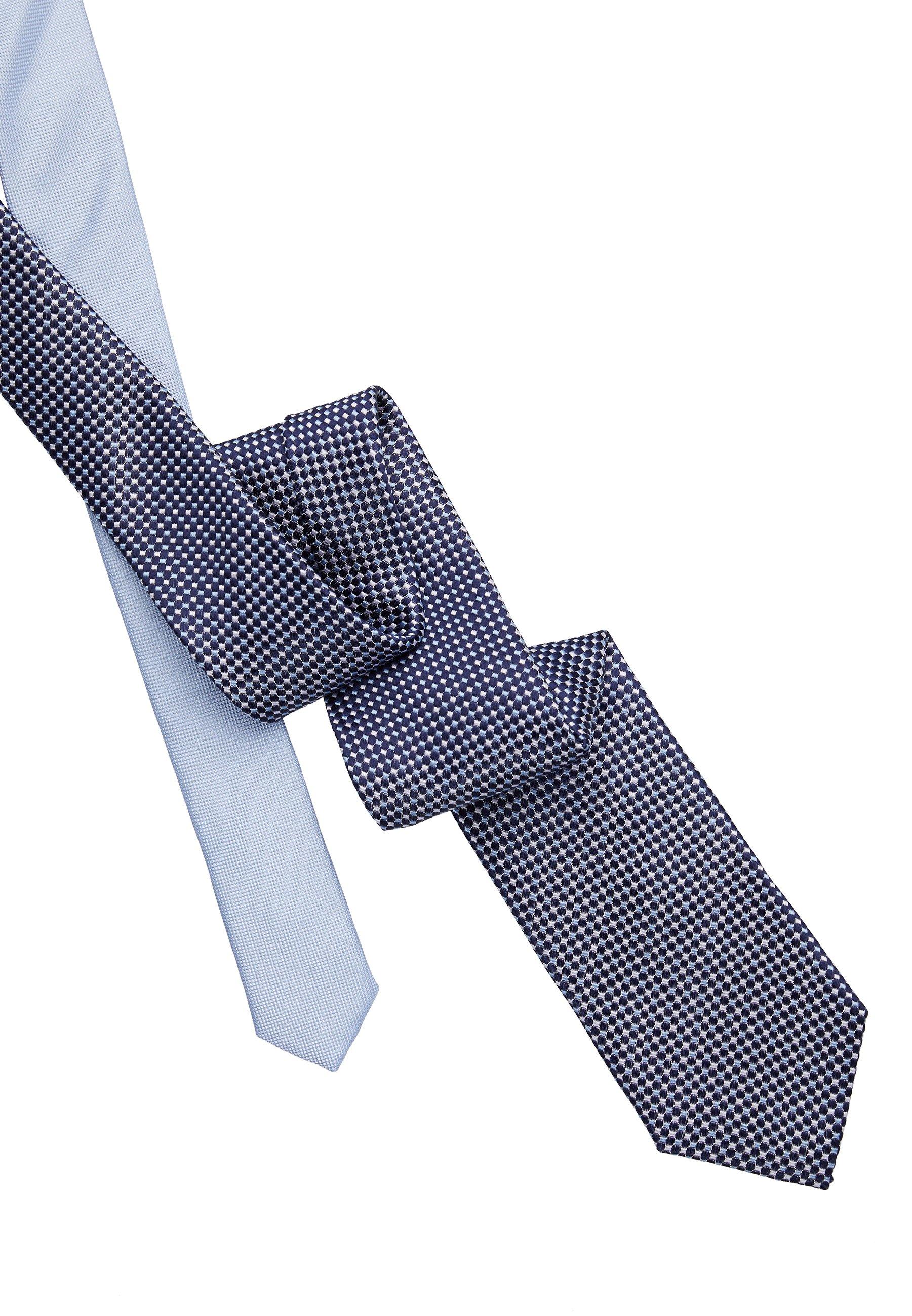 Tommy Hilfiger Micro Design Tie - Slips Blue