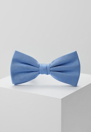SOLID RIBBED BOWTIE - Fliege - blue