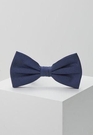 MICRO DESIGN BOWTIE - Bow tie - blue