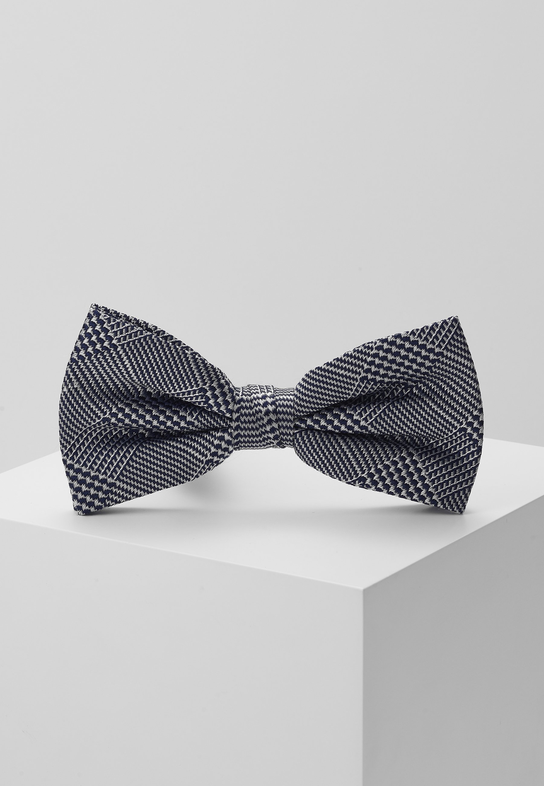 Calvin Klein ALL OVER LOGO BOW TIE - Butterfly - blue