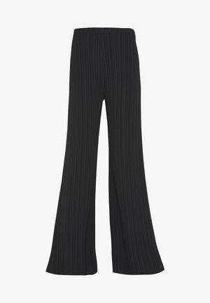 TIE DYE TROUSER - Trousers - black