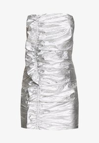 Third Form - DRIFTER FRILL STRAPLESS - Cocktail dress / Party dress - silver - 4