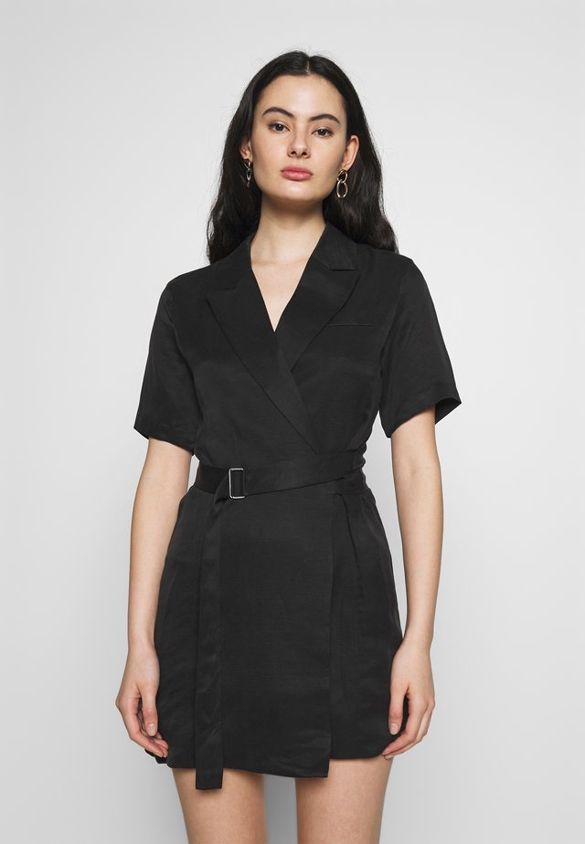 BLAZER DRESS - Day dress - black