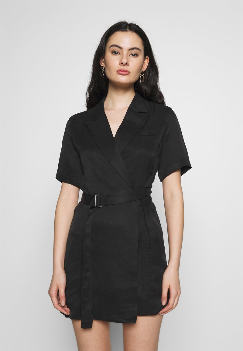 Third Form - BLAZER DRESS - Day dress - black