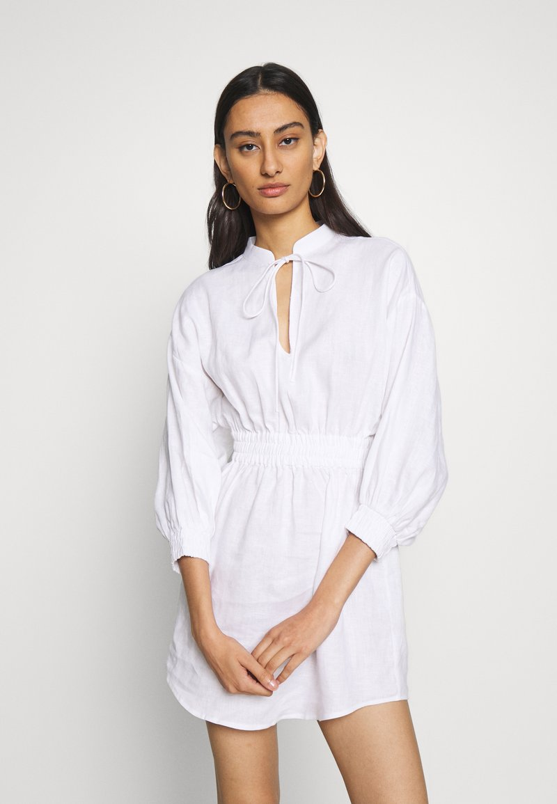 Third Form - PLAY ON DRESS - Day dress - white