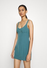Third Form - VENTURE GATHER BRA MINI - Day dress - storm - 0