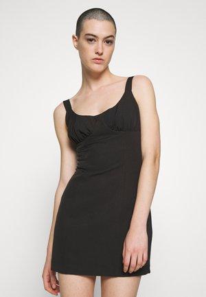 VENTURE GATHER BRA MINI - Day dress - black