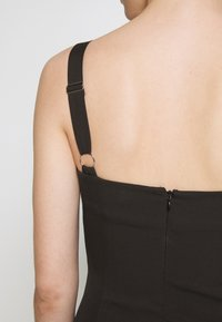 Third Form - VENTURE GATHER BRA MINI - Day dress - black - 5