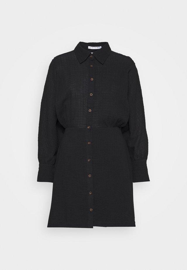 CLOUD DRESS - Shirt dress - black