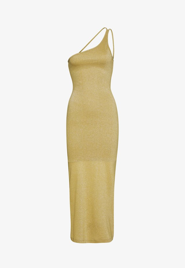 SHIMMER ONE SHOULDER MAXI - Occasion wear - citrus