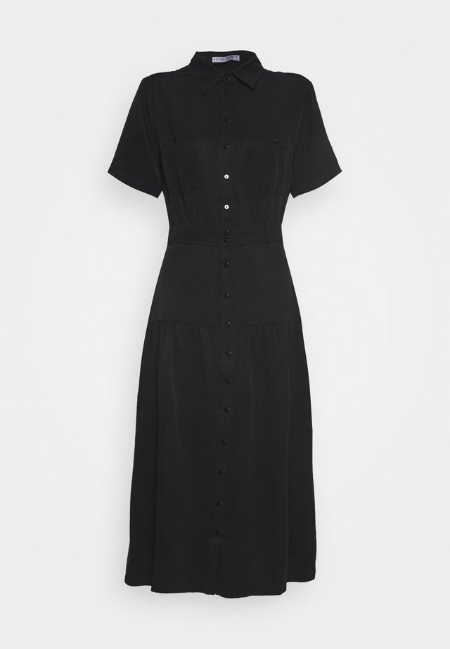 LE MODE MIDI DRESS - Shirt dress - black