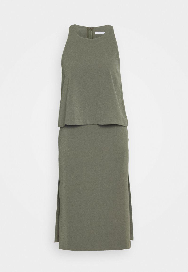 Third Form - DOUBLE UP DRESS - Day dress - moss
