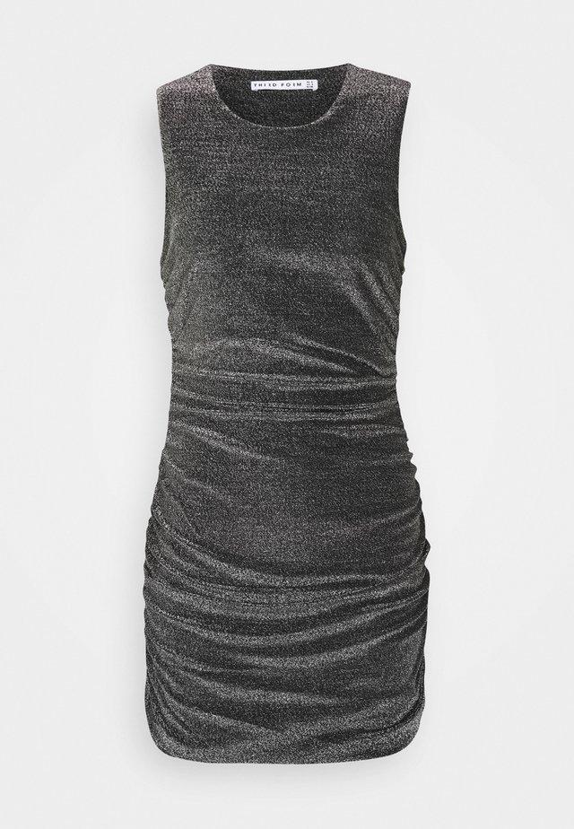 MIRAGE HALTER DRESS - Cocktail dress / Party dress - black metal