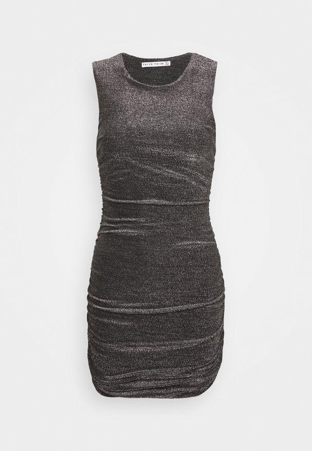 MIRAGE TANK DRESS - Koktejlové šaty/ šaty na párty - black