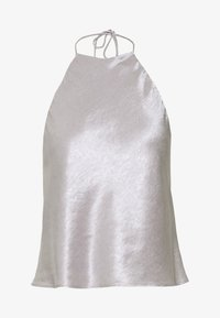 Third Form - ORBIT HALTER - Blouse - silver - 4