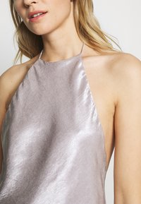 Third Form - ORBIT HALTER - Blouse - silver - 5