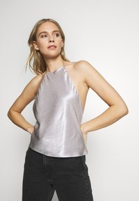 Third Form - ORBIT HALTER - Blouse - silver - 3
