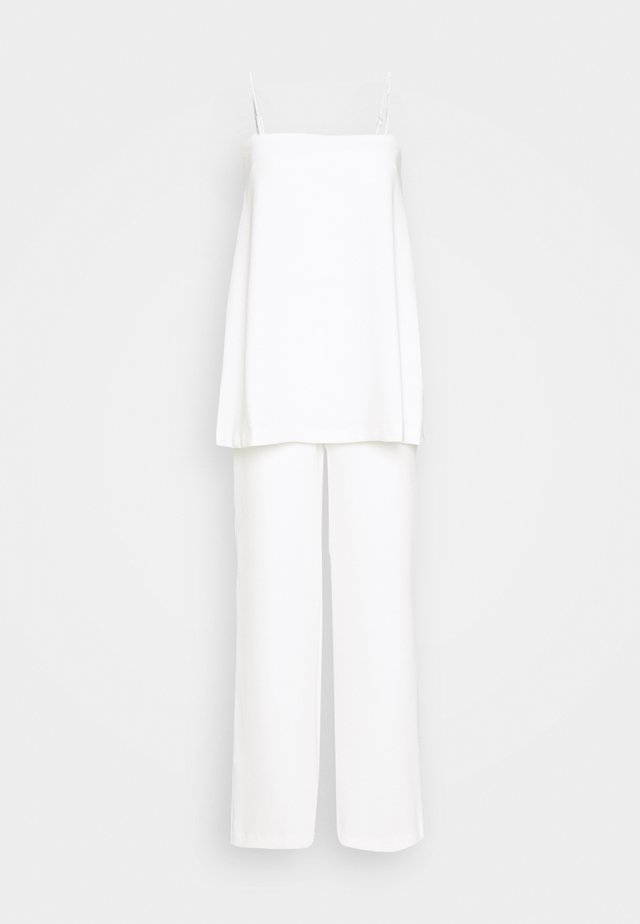 DOUBLE UP - Jumpsuit - off white