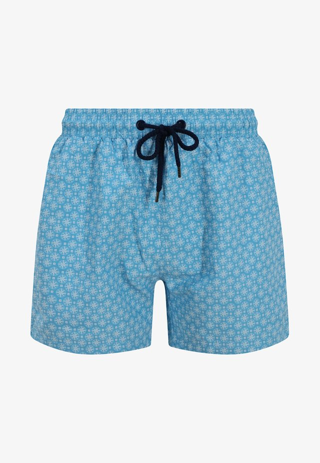 BALMORAL  - Swimming shorts - light blue/white