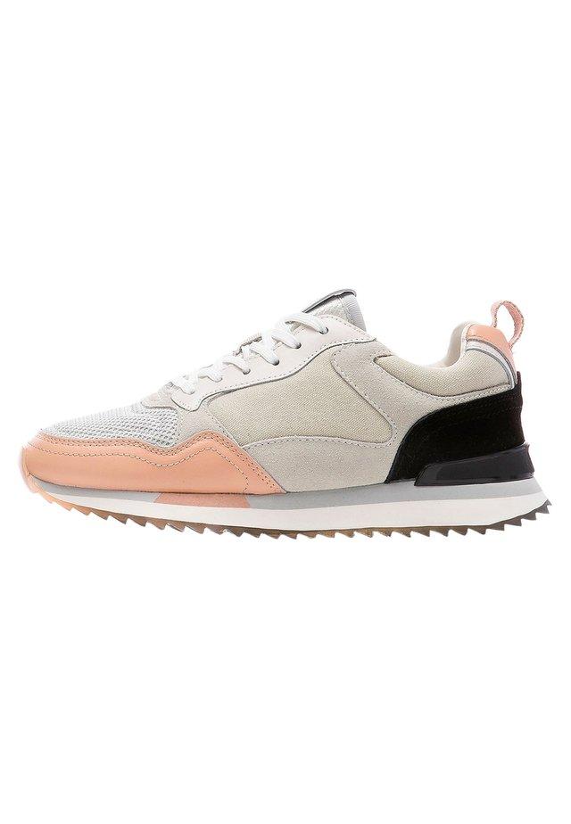Trainers - hellgrau-rosa