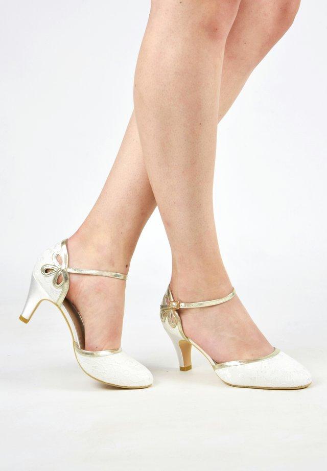 NINA GOLD - Bridal shoes - ivory