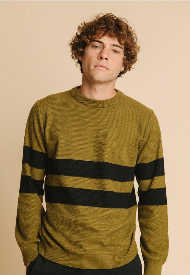 Sweatshirt - olive green