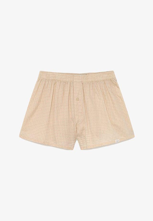 HOSE CUADROS  - Boxer shorts - sand