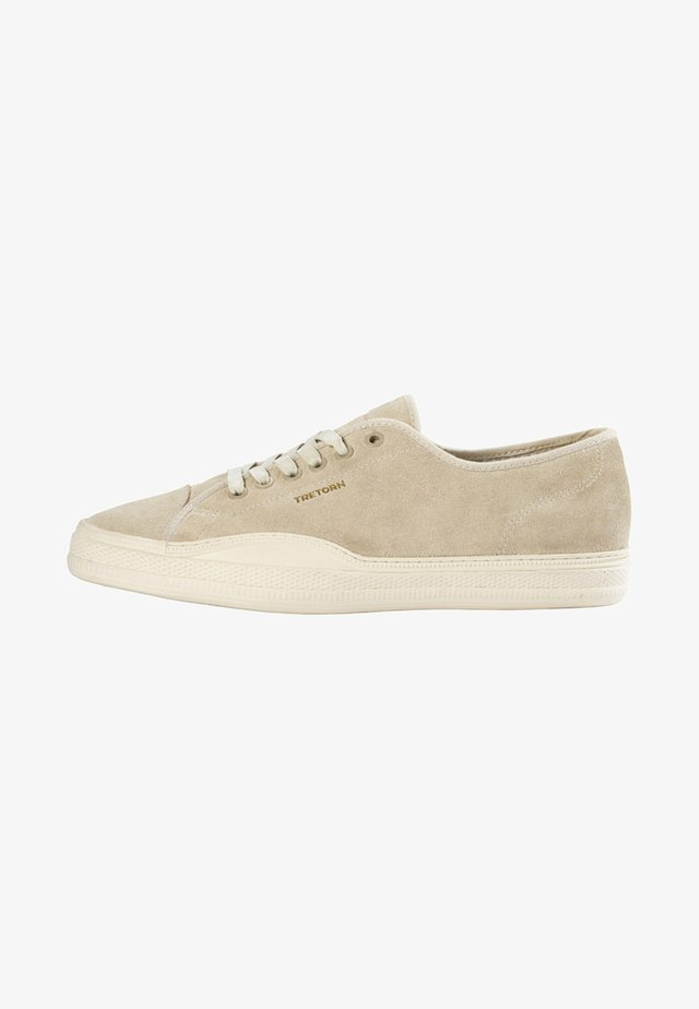 Trainers - taupe/bone