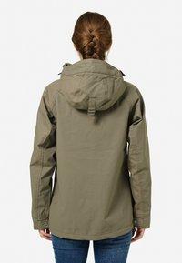 Tretorn - SAREK - Waterproof jacket - field green - 1