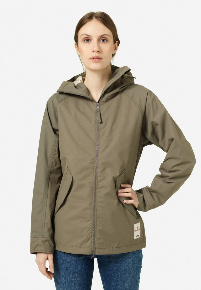SAREK - Waterproof jacket - field green