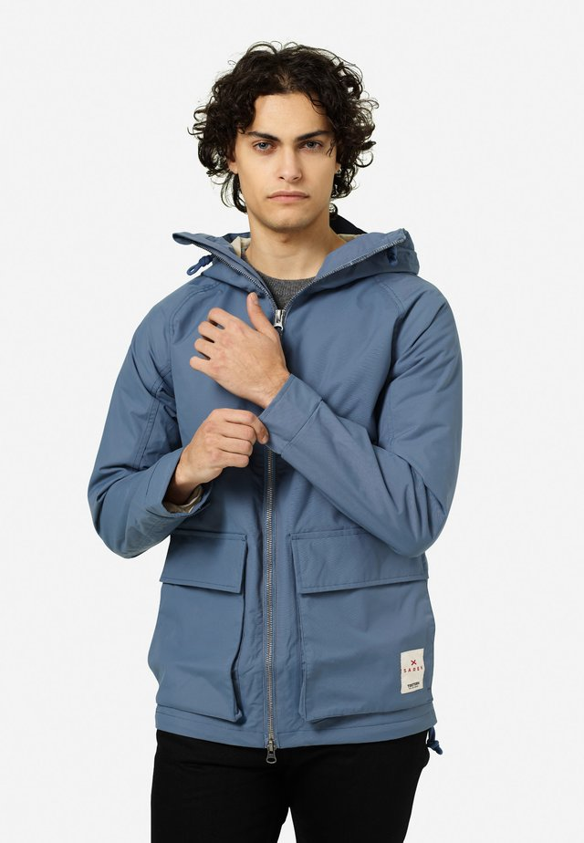 SAREK - Outdoor jacket - stone blue