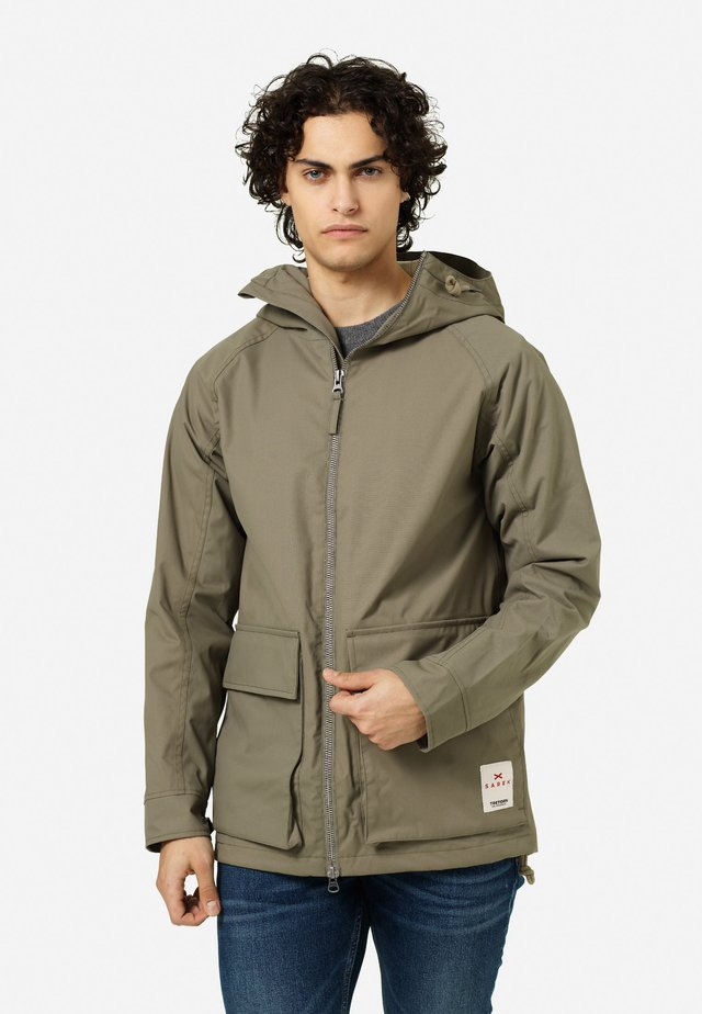 SAREK - Outdoor jacket - field green