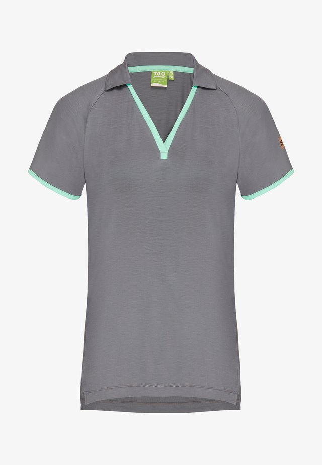 Polo shirt - steel