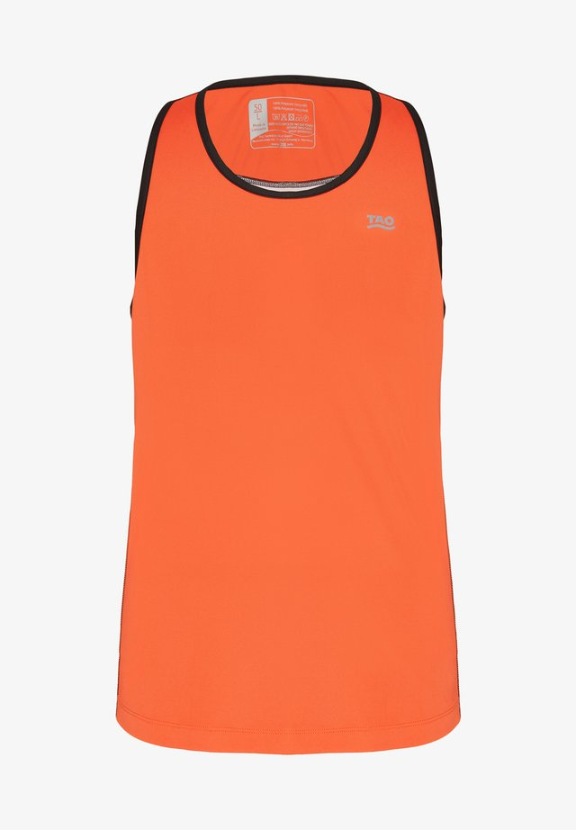 AFTAP - Sports shirt - orange/white/black