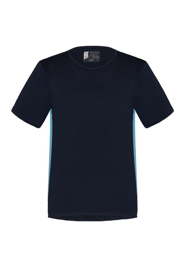 KANJA - Print T-shirt - admiral