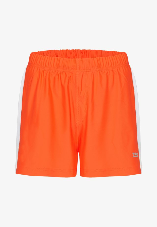 FABIUS - Sports shorts - orange/white
