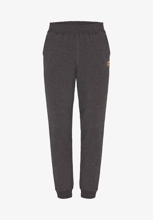Tracksuit bottoms - graphit melange