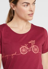 Triple2 - LAAG WOMEN BIKE - T-Shirt print - beet red - 5