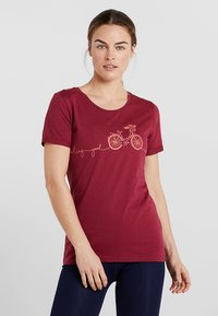 Triple2 - LAAG WOMEN BIKE - T-Shirt print - beet red - 0