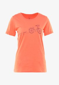 Triple2 - LAAG WOMEN BIKE - T-Shirt print - living coral - 4