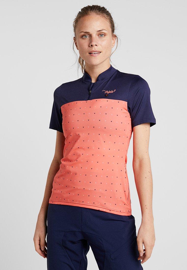 Triple2 - SWET PERFORMANCE WOMEN - T-Shirt print - living coral
