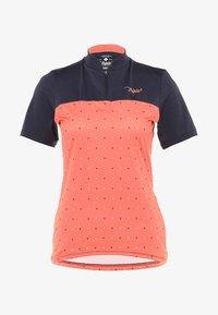 Triple2 - SWET PERFORMANCE WOMEN - T-Shirt print - living coral - 5