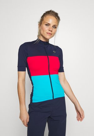 VELOZIP OCEAN WASTE ECONYL WOMEN - T-Shirt print - peacoat