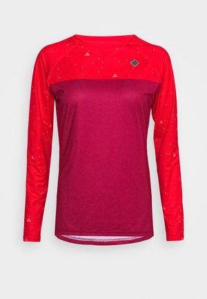 SWET NUL WOMEN - Pitkähihainen paita - beet red